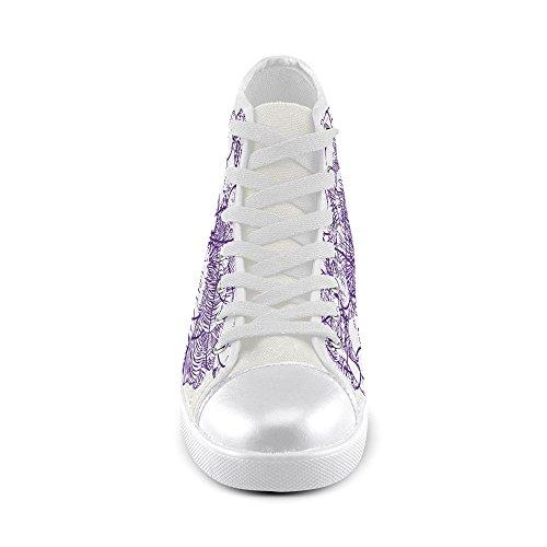 Artsadd Stuff Haut Chaussures De Toile Pour Les Hommes (model002)
