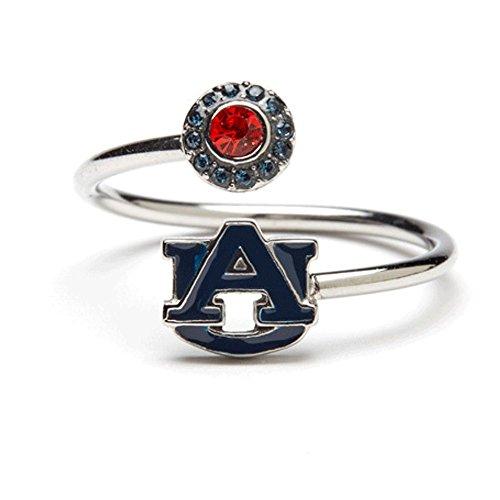 Stone Armory Auburn Tigers Ring | Auburn University Jewelry | Auburn Stainless Steel Adjustable Ring