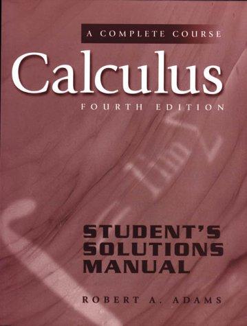 Calculus: Complete Course