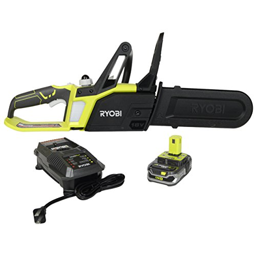 Ryobi P547 10 in. ONE+ 18-Volt Lithium+ Cordless Chainsaw Kit Review