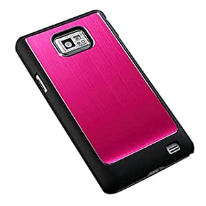 hao Brushed Aluminum Hard Case for Samsung Galaxy S2 9100 , Black