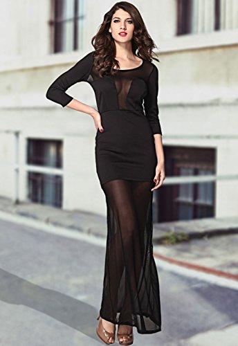 Pinkyee - Vestido - para mujer Black2