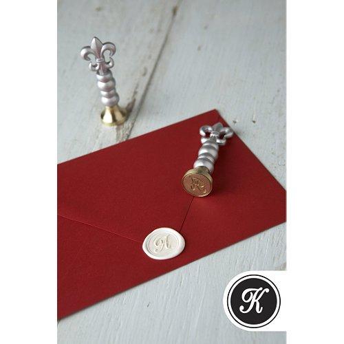Monogram Wax Stamper - K