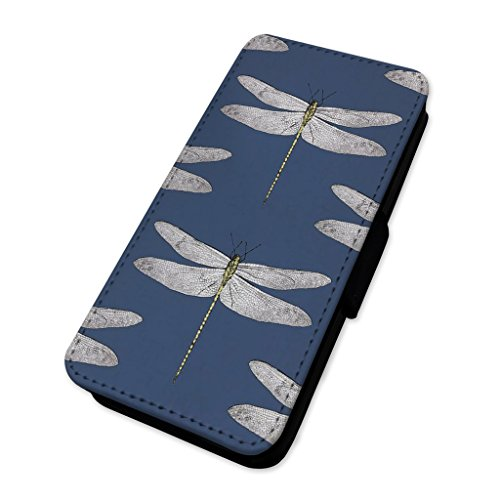 Modello libellula–Custodia ad aletta in pelle copertura di carta Apple Iphone 5/5s/SE