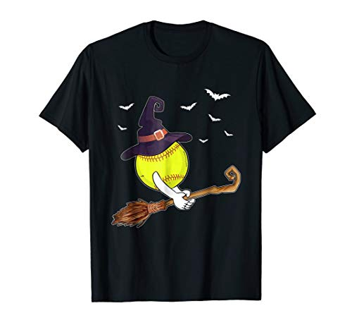 Funny Softball Witch Hat Halloween Costume