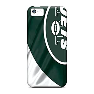 Iphone 5c BKF9087KfMz Provide Private Custom High Resolution New York Jets Series Scratch Protection Hard Cell-phone Cases -JohnPrimeauMaurice