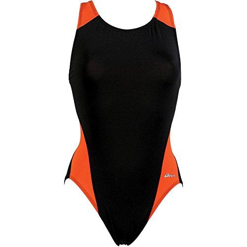 Dolfin OCEAN PANEL PERFORMANCE BACK BLACK/ORANGE SIZE 30