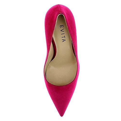Evita Shoes Natalia - Zapatos de vestir de Piel para mujer Rosa