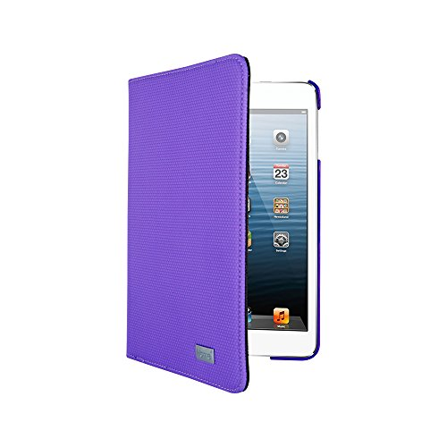 iHome Neon Spin Folio-Folio Case for iPad 2/3/6 - Retail Packaging - Purple