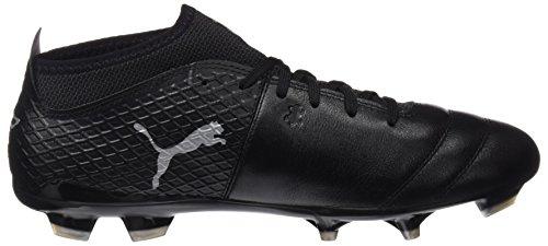 2 Scarpe black Uomo black Calcio Da 17 One Puma silver Fg Nero 4UwxBqnEI