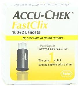 Accu-Chek Fastclix Lancets, 102 Count
