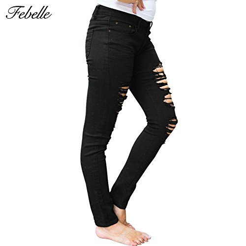 Jeans Femme Febelle Febelle Blanc Femme Femme Jeans Jeans Blanc Febelle Blanc ZaW6gw