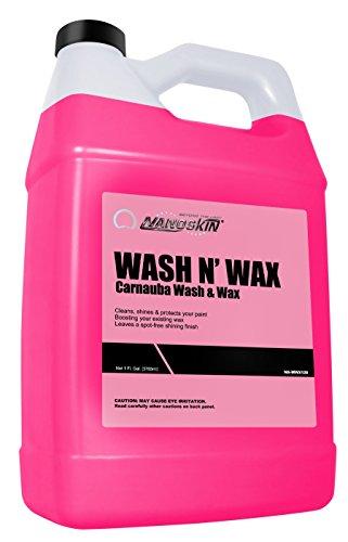 Nanoskin (NA-WWX128) Wash N' Wax Carnauba Wash & Wax - 1 Gallon