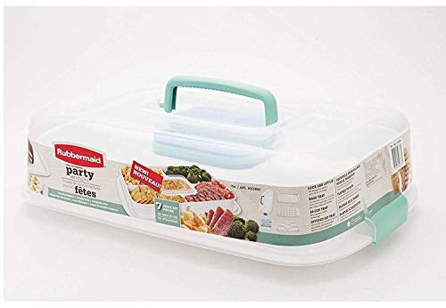 - Rubbermaid Ultimate Party Serving Kit, white