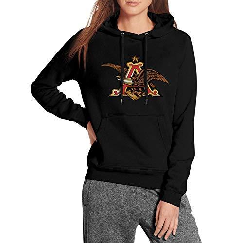 jkthtr rtgjrtg Sweatshirt Personality Anheuser-Busch-Beer-Sign- Hoodie for Women