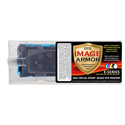 Image Armor DTG Ink Cartridges for Anajet Sprint 220ml , Cyan