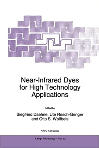 Near-Infrared Dyes for High Technology Applications: Proceedings of the NATO Advanced Research Workshop on Synthesis, Optical Properties and ... 1997 (Nato Science Partnership Subseries: 3)