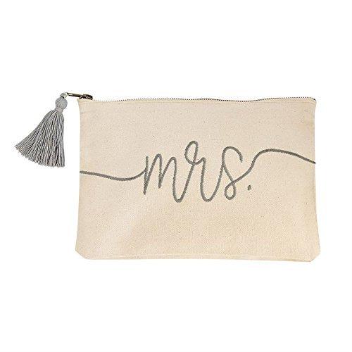 Mud Pie Mrs Canvas Bag by Mud Pie