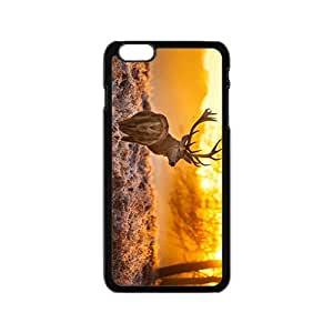 Tibetan antelope In Sunset Hight Quality Plastic Case for Iphone 6