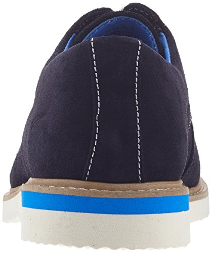camel active Sunset 11, Zapatos de Cordones Derby para Hombre Azul (midnight 02)
