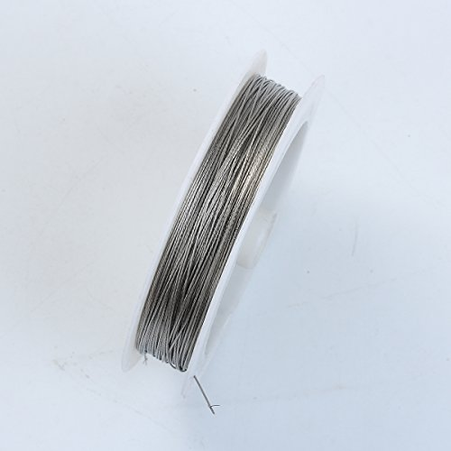 Antique Silver Color Wire 24 Gauge,Thickness 0.5MM WAS-101-24G