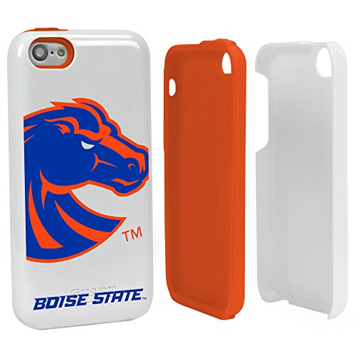 (Guard Dog Boise State Broncos Hybrid Case for iPhone 5c - White )
