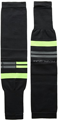 Pearl iZUMi Select Thermal Lite Arm Warmer, Black/Screaming Green Segment, Medium