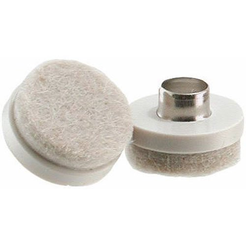 1 Inch Felt (Shepherd Hardware 9934 1-Inch Felt Nail On Furniture Pads, 8-Pack)