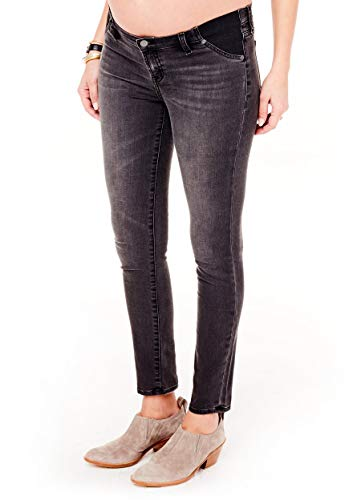 - Ingrid & Isabel Women's Maternity Skinny Jean with Insert Panel Faded Black