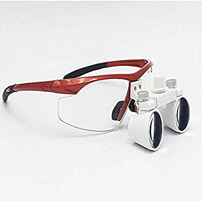 Médico Quirúrgico Dental Gafas Lupas Binoculares 2.5x420MM ...