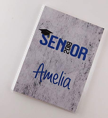 Graduation Photo Album IA#876 Senior Pictures Class of 2018 5x7 or 4x6 Graduation Gift High School Highschool Graduate Party Personalized Gift