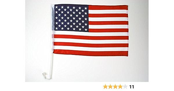 AZ FLAG Bandera de Coche de los Estados Unidos 45x30cm - BANDERINA para Auto Americana - USA - EE.UU 30 x 45 cm: Amazon.es: Hogar