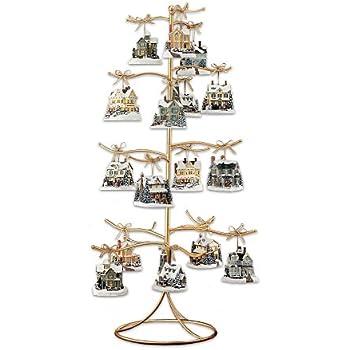 Amazon.com: The Bradford Exchange Gold Wire Ornament Tree