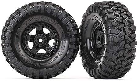 TRAXXAS Tires & wheels, glued (TRX-4 Sport wheels, Canyon Trail 1.9 (TRX8179)