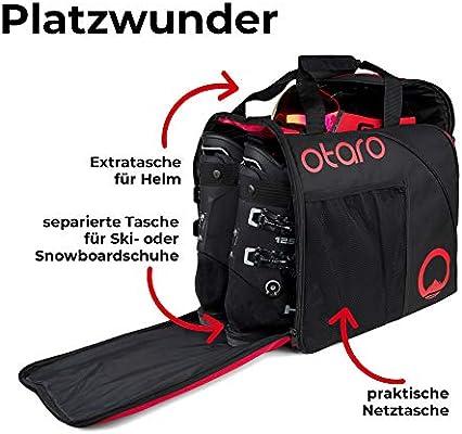 OTARO ® - Bolsa para Botas de esquí, Incluye Compartimento ...