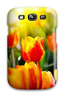 New Mary David Proctor Super Strong Flower Tpu Case Cover For Galaxy S3
