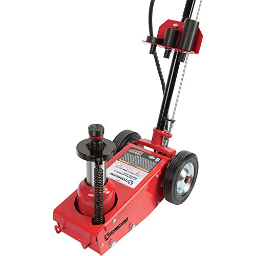 Automotive Hydraulic Lift Parts : Strongway air hydraulic quick lift service jack ton