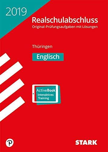 Realschulabschluss - Englisch - Thüringen Taschenbuch – 5. Oktober 2018 Stark Verlag 384903514X Lernhilfen / Abiturwissen für das Studium zu Hause