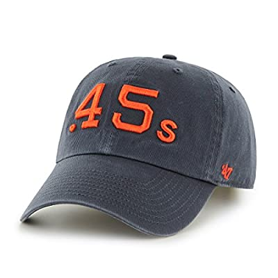 "Houston Astros 47 Brand MLB ""Cooperstown"" Clean Up Adjustable Hat - Colt 45s"