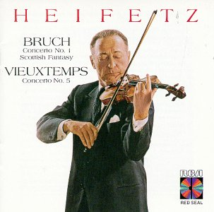 Limited time for free shipping Bruch: Concertos No.1 Popular products Scottish Fantasy Concerto Vieuxtemps: