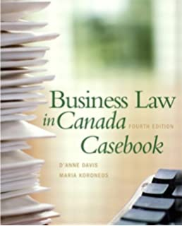 Business law in canada tenth canadian edition with mybusinesslawlab business law in canada casebook 4th edition fandeluxe Image collections