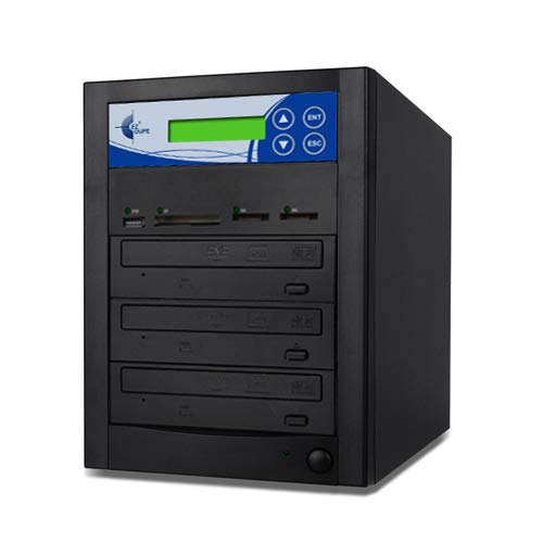 EZ DUPE Media Mirror 2-Target DVD CD Memory Card USB Duplicator