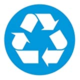 Recycle Circle Vinyl Sticker Decal