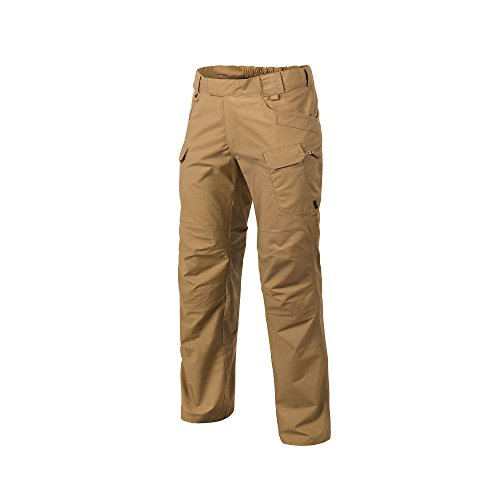 (Helikon-Tex Urban Line, UTP Urban Tactical Pants Ripstop Coyote Brown, Military Ripstop Cargo Style, Men's Waist 36 Length 32)