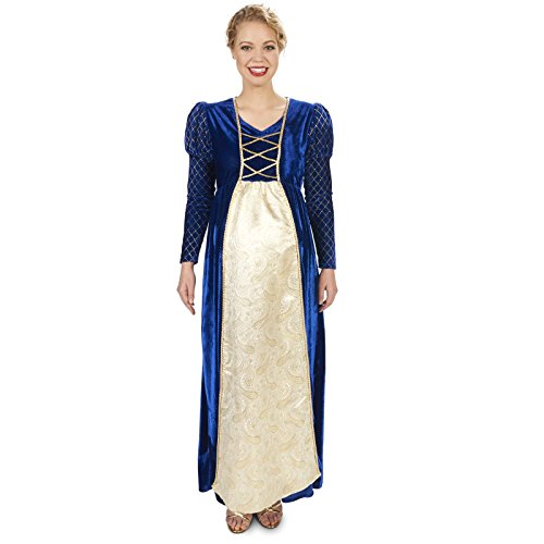 Renaissance Lady Adult Maternity Costume for Halloween 2017