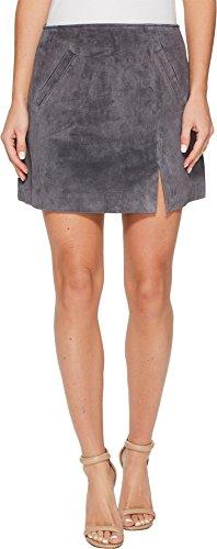 Blank NYC Women's Grey Suede Mini Skirt in Star Gazer Star Gazer 30 (Big Star Mini Skirt)