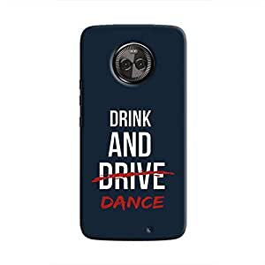 Cover It Up - Drink and Dance Moto X4 Hard Case