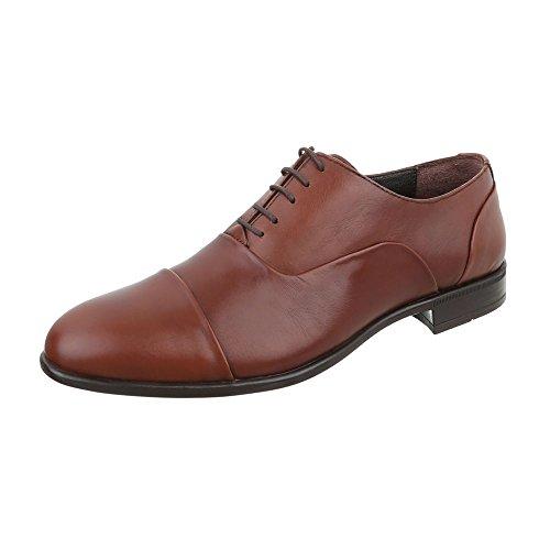 Cuir Style Budapester Chaussures Hommes Bloc Bas Haut Talon