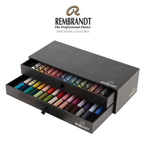 (Rembrandt Soft Pastel Luxury 2-Drawer Set 45 Color (15 Full Sticks + 30 Half Sticks))
