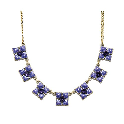 Anne Koplik Swarovski Crystal All Things Purple Necklace 4628 ()